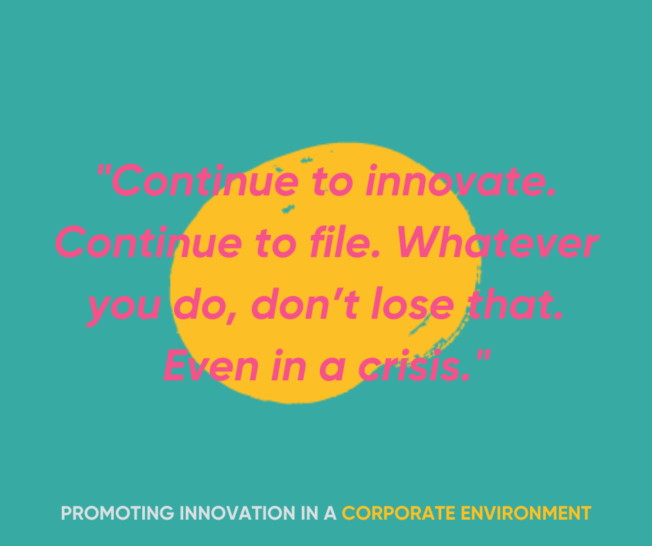 Continue to innovate